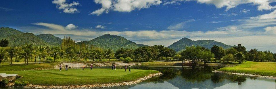 Golfpakker med hotel i Hua Hin